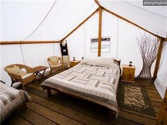 Luxury Tents Nahatlatch | Glamping Tents British Columbia | Glamping Canada