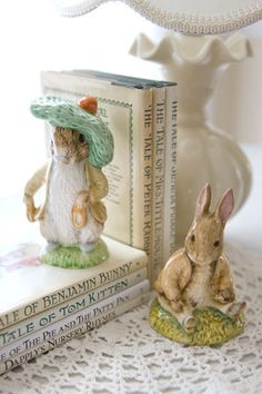 I love the Peter Rabbit books. Read them a lot to the children when they were little. :)