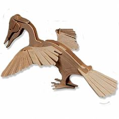 3-D Wooden Puzzle - Small Darter