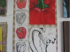 sub_art_8 Sketchbook Inspiration, Sketchbook Ideas, Natural Forms Gcse, A Level Art Sketchbook, Ap Drawing, Observational Drawing, Fruit Art, Art Classroom, Art Inspo