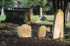Churchyard, Hendon, London NW4, Sunset 29th Nov 2014