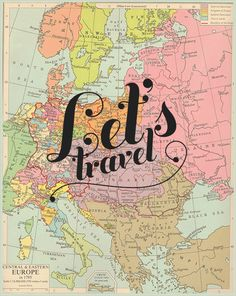 Pinned for lots o' reasons: 1: the font is a total 1970s font. 2. Let's travel! 3. it reminded me of Cheers. IDK.