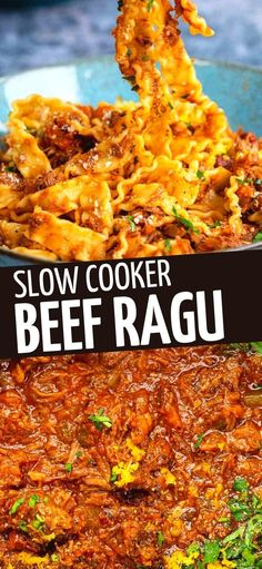 Hearty, rich and delicious ragu sauce with fall-apart beef slow cooked to tender perfection. Serve this rich and meaty Italian ragu over tagliatelle with plenty of grated Parmesan for the ultimate comfort meal.