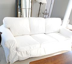 How to Easily Remove Wrinkles from Ikea Slipcovers - The Graphics Fairy