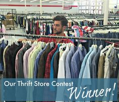 These bloggers do a monthly thrift store contest and find amazing deals!  Over $2000 retail found for $40 .. Check out what he found Burberry, Neiman Marcus, Ralph Lauren, JCREW, Lacoste and more!  www.TooCheapBlondes.com