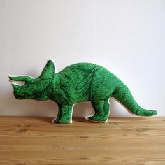 Triceratops Pillow, $32, now featured on Fab.