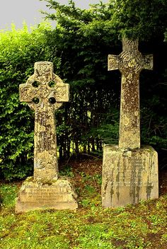 Resting place of Lt. Col. John and Isabella MacRae, Clachan Duich, Scotland, restorers of the Eilean Donan Castle.