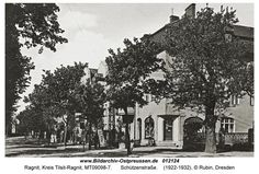 Жилой дом на Шутценштрассе, построенный жильцами на свои средства.