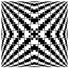 Here are a few reallycool optical illusions  that really trick your eyes..    1) This illusion looks curved around all the sides of the sq...