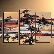 Картины и панно ручной работы. Ярмарка Мастеров - ручная работа Пейзаж. Handmade.