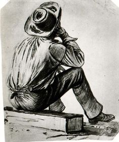 George Caleb Bingham - Study of a Boatman