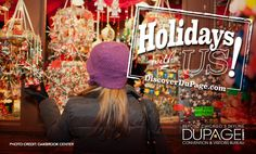 Loads of holiday fun awaits in DuPage County! The best gift of all is warm memories with family and friends. From meeting Santa, to shopping, to theater performances here are ideas for holiday activities. http://www.discoverdupage.com/blog/discover-dupage-for-loads-of-holiday-fun/