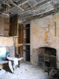 Deserted room at Calke Abbey