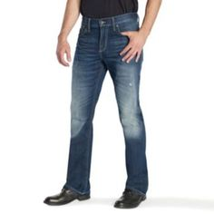 31e5a775c5 Rock   Republic Regular-Fit Bootcut Jeans - Men