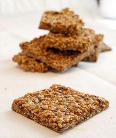 Sesame Seed Snaps
