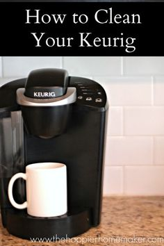 Good to know, pin now for reference later! How to clean a keurig #coupon code nicesup123 gets 25% off at  www.Provestra.com www.Skinception.com and www.leadingedgehealth.com