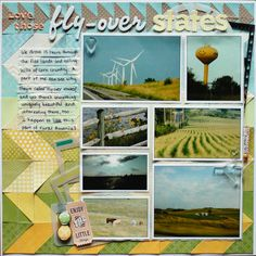 Start Your Scrapbook Layout with a Block Foundation | Marcia Fortunato | Get It Scrapped