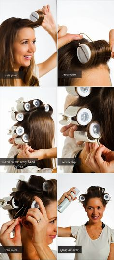 FunStocki: How to use hot rollers..