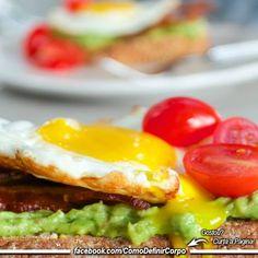 Café da manhã reforçado   Bom dia!  Torne-se um Expert em Definição Muscular! Aprenda   definir o corpo de maneira saudável, passo a passo  http://www.SegredoDefinicaoMuscular.com/ ⬅ Clique   #fitness #fit #fitnessmotivação #emagrecer #estilodevida #motivação  #perderpeso #bemestar #ComoDefinirCorpo