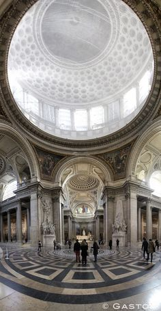Pantheon Interior, Paris France