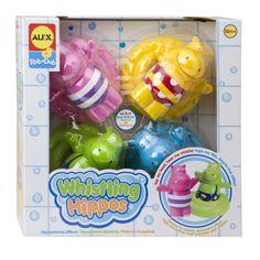 ALEX Toys Rub a Dub Whistling Hippos