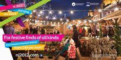 NITB Christmas 2012 - AV Browne Belfast, Campaign, Marketing, Tv, Places, Christmas, Xmas, Television Set, Navidad