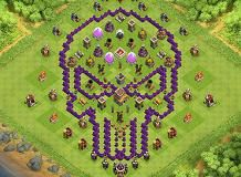 hgg TH 8 Clash of Clans Base Layout