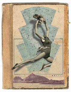 """Franz Falckenhaus  Volvemos a este género de la mano del ilustrador y diseñador grafico polaco Franz Falckenhaus (1975). Residente en Cracovia, este artista autodidacta se ha especializado en collages de la denominada """"técnica mixta"""" que utiliza tanto medios digitales como otros hechos a mano."""