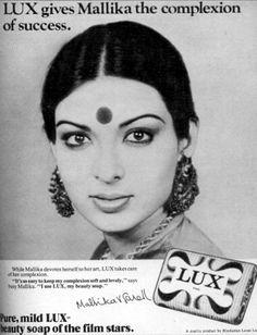 Mallika Farel Lux Ad Vintage Models, Vintage Ads, Vintage Prints, Vintage Photos, Lux Ad, Soap Advertisement, Old Advertisements, Advertising, Beauty Soap
