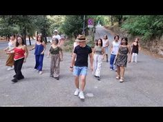 Night Fever - BeeGees Line Dance - YouTube Exercise Music, Exercise Videos, Workout Music, Saturday Night Fever Dance, Exercises, Workouts, Lets Dance, Crochet Braids, Dance Videos