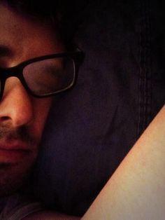 Sleepy time with Josh Groban. :)