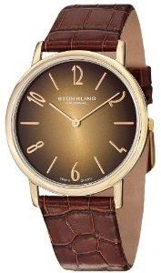 LIGHTNING DEAL! Stuhrling Original Classic Cuvette Contra men's quartz Watch SAVE 75% NOW £41.17