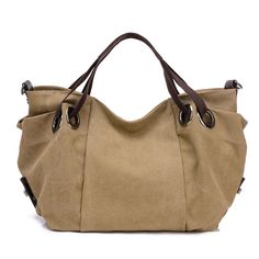Women s Canvas Hobo Crossbody Bag Large Capacity Canvas Shoulder Bag 647f3d33b2696