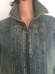 Venezia Women Plus Side 18/20 Jeans Jacket Designer Fashion Hip Denim  | eBay