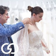 """2016 Bridal Collections"" - Beautiful and feminine bolero jacket by #ElisabettaEPolignano at #BridalMarket, via Grace Ormonde Wedding Style"