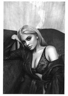 Kylie Jenner x Tyga By Sasha Samsonova • WMN ISSUE