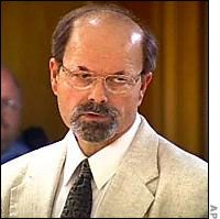 """Dennis Lynn Rader- BTK. murdered ten people  between 1974 and 1991. """"BTK"""" stands for """"Bind, Torture, Kill,"""" which was his infamous signature. He sent letters describing the details of the killings to police and to local news outlets during the period of time in which the murders took place."""