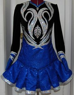 Irish dance dress.  Omg!! I want one like this when im able to get one!!