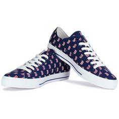 Boston Red Sox Row One Victory Lace-Up Sneakers, $68 via Shop.MLB.Com