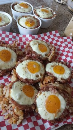 RETRO STYLE! :-) southwest style hash browns, corned beef hash, an egg ...