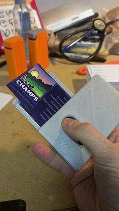 Magic Pivot Business Card Dispenser by skovgaar.
