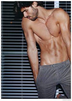 """Juan Betancourt, Wilhelmina Model for Fashion For Men's """"Now: Tom Ford"""""""