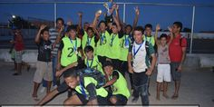 João Dourado: O time Bagaceira da Gameleira é campeão do I Campeonato de Futebol Júnior. | Lucas Souza Publicidade