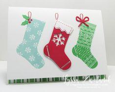 Hang Your Stocking Stampin Up Christmas bundle Holiday card