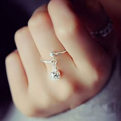 Delicate Beautiful Rings For Women Hollow out Ball Elegant 925 Sterling Silver Jewelry Bague Femme Anillos Mujer Wedding Ring