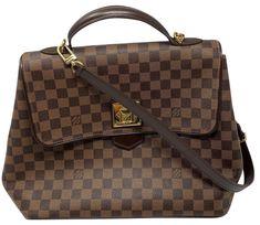 Canvas Shoulder Bag, Vintage Louis Vuitton, Discount Designer, Louis Vuitton Damier, Certificate, Zero, Luxury Fashion, Retail, Exterior