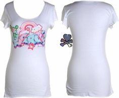 Sandy Tee- Size Small  from: http://www.amazon.com/Tokidoki-Sandy-Womens-White-T-Shirt/dp/B00669R548/ref=sr_1_65?s=apparel=UTF8=1353452586=1-65=tokidoki ($32)
