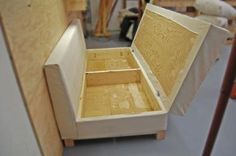Build a Storage Sofa | Free and Easy DIY Project and Furniture Plans