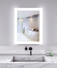 """Creators Civis CVAN2436LED LED 24"""" x 36"""" Angel Lighted Bathroom Mirror"""