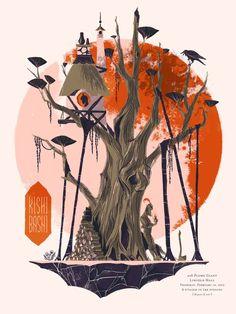 Anne Benjamin's Kishi Bashi Poster